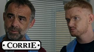 Kevin & Gary Visit Anna In Hospital - Coronation Street