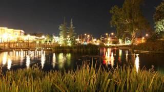 Beautiful Night timelapse at Bridgeport-Valencia CA (zoomed Slow Pan left) V09888b