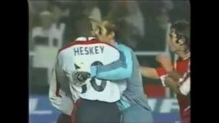 Alpay Ozalan (Turkey) vs David Beckham (England)