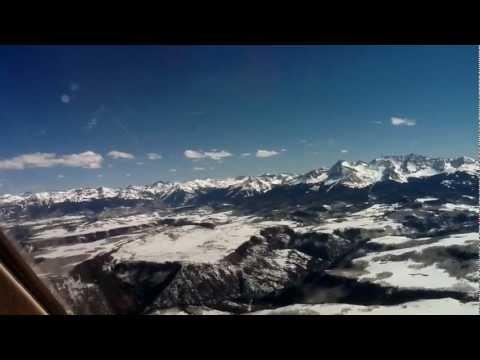 Telluride landing Falcon 900