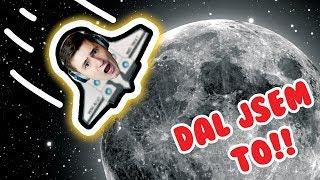 Přistál jsem na Měsíci!