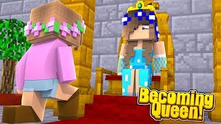 LITTLE CARLY BECOMES QUEEN AND TAKES BACK THE MAGICAL KINGDOM! (Minecraft Roleplay).