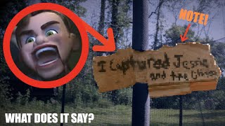 BENSON LEFT A NOTE IN MY BACKYARD! *Toy Story 4 In Real Life!*