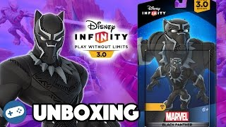 Disney Infinity 3.0 Black Panther Unboxing