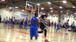 Chandler Hutchison #5, Spring 2013 Eastbay Basketball Highlights 1