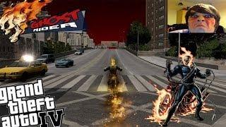 GTA IV LCPDFR Ghost Rider Mod Police Patrol + Webcam - Episode 11 - Face Paint & Gang Shootouts