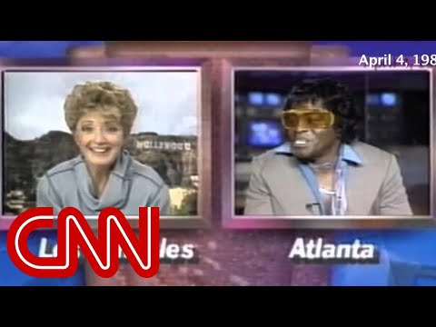 1988: Is this James Brown's strangest interview ever?