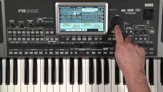 Korg PA900: Introduction