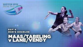 Scotish Open 2017 | Maas/Tabeling v Lane/Vendy