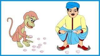 Gotakhor Bander | Hindi Kahaniya for Kids | Stories for Kids | Hindi Animated Stories