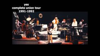 YES - COMPLETE UNION TOUR 1991-1992