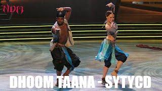 SYTYCD | Season 4 | Dhoom Tana | Katee & Joshua | Nakul Dev Mahajan