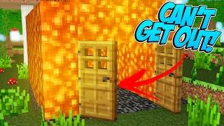 Minecraft Trolling - TURNING HOUSE INTO LAVA! (Minecraft Pranks Ep 134)