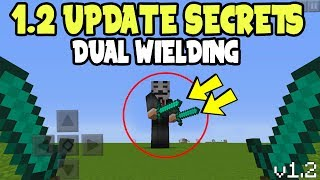 Minecraft Pocket Edition 1.2 Update SECRETS - DUAL WIELDING