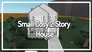 GIVEAWAY! Welcome To Bloxburg - Cosy Small 2 Story House - Build ($40K)