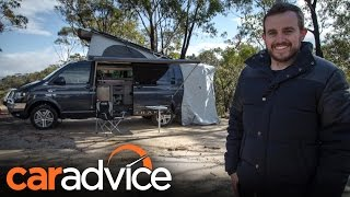 2016 Volkswagen Transporter Trakka Camper Review   CarAdvice