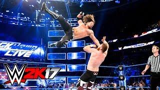 WWE 2K17 - AJ STYLES PHENOMENAL FOREARM COMPILATION!!