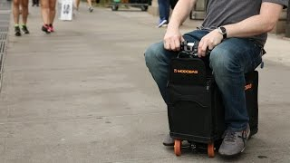 Yes, my carry-on luggage is also an electric go-cart