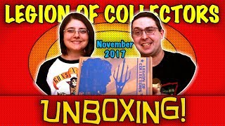 UNBOXING! Legion of Collectors November 2017 - JUSTICE LEAGUE #Funko #DC Mystery Box