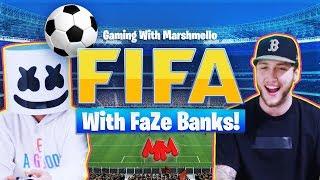 WORLD CUP SHOWDOWN   Marshmello v. FaZe Banks - FIFA 18