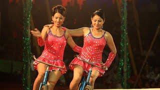 Amazing Talent stunts in hyderabad | Bombay Circus Video