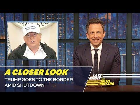 Xxx Mp4 Trump Goes To The Border Amid Shutdown A Closer Look 3gp Sex