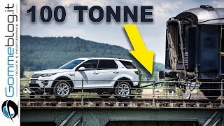 Land Rover Discovery Sport VS 100-Tonne Train - HOW TO Pull an Extreme Wagon
