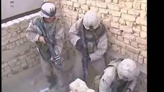 War -  Firefight scenes Iraq  Afghanistan