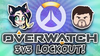 ► Overwatch ► 3v3 LOCKOUT (w/ Barry & Rei!) ► Kitty Kat Gaming