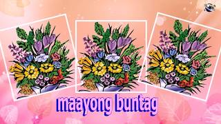 Cebuano Language Good Morning Flowers greeting  video  for  everybody everyone