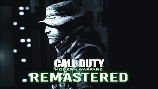 Call of Duty 4: Modern Warfare Remastered All Cutscenes (Game Movie) 1080p 60FPS