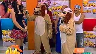 el club televisa mty-perro guarumo, estelita y guarumin 22-03-11