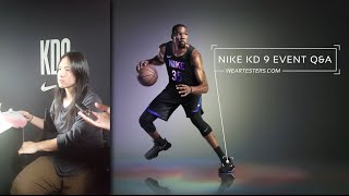 Nike KD 9 Q&A with Leo Chang
