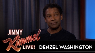 Denzel Washington on First Date with His Wife