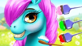 Fun Pony Care Kids Game - Pony Girls Horse Care Resort 2 - Animal Style & Dress Up Games For Girls