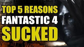 Top 5 reasons the Fantastic 4 Reboot sucked