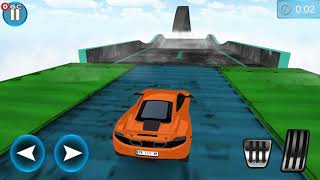 Extreme Tracks Racing Stunts Ultimate Flying Cars / Sports Car Racer / Android Gameplay