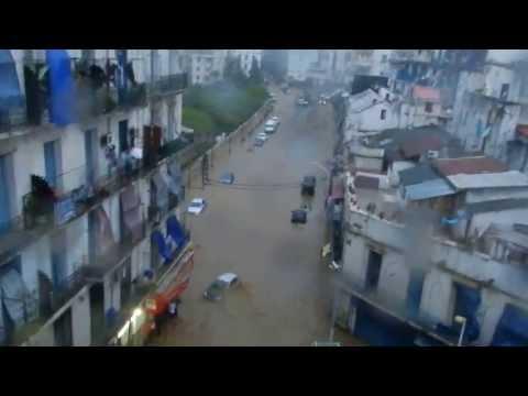 innondation de Bab El Oued du 21 Mai 2013