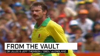 From the Vault: Lillee, Thomson rout England