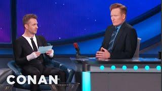 Chris Hardwick Gives Conan A Comic-Con® Citizenship Test  - CONAN on TBS