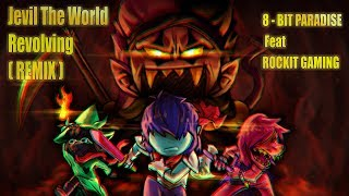 "DELTARUNE ""JEVIL""S DUNGEON THEME THE WORLD REVOLVING REMIX"" ROCKIT GAMING OFFICIAL LYRIC MUSIC VIDEO"