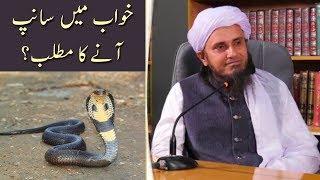 Khawaab Mein Saap Aane Ka Matlab | Mufti Tariq Masood