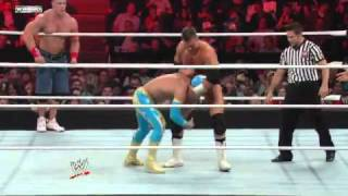 Raw  John Cena   Sin Cara vs. The Miz   Alex Riley
