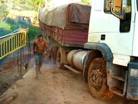 Travessia da balsa Apuí Humaitá