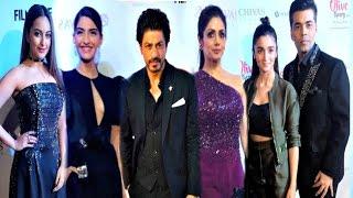 Filmfare Awards 2017 Pre Party - Shahrukh Khan, Sonam Kapoor, Alia Bhatt, Karan Johar, Sridevi,