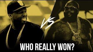 50 Cent Vs. Rick Ross: Who REALLY Won?