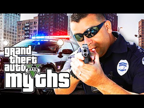 GTA 5 Myths (Cop Freakout, Snowball Bandit, Flying Cars and More!)