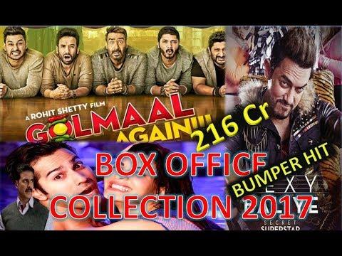 Xxx Mp4 Box Office Collection Of Golmal Again Secret Superstar Judwaa 2 Movie 2017 3gp Sex