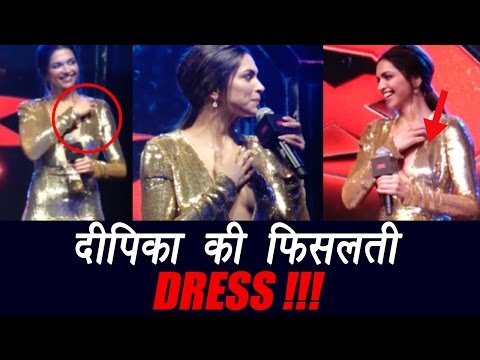 Deepika Padukone suffers wardrobe MALFUNCTION at xXx premiere; Watch video | FilmiBeat