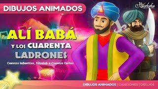 Alí Babá y los Cuarenta Ladrones - cuentos infantiles en Español